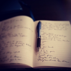 Songwriting in the Dark